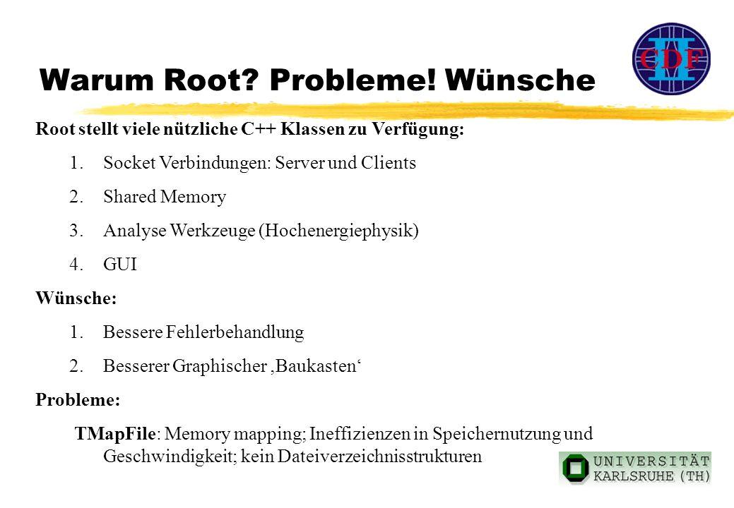 Warum Root. Probleme.