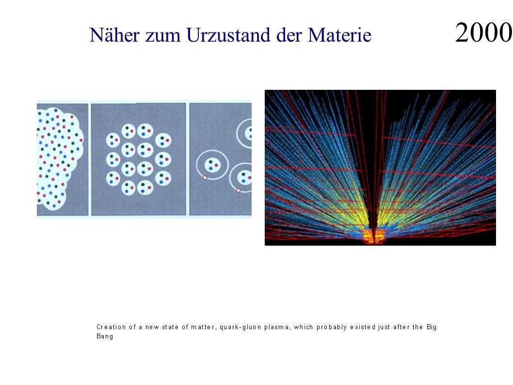 Näher zum Urzustand der Materie 2000