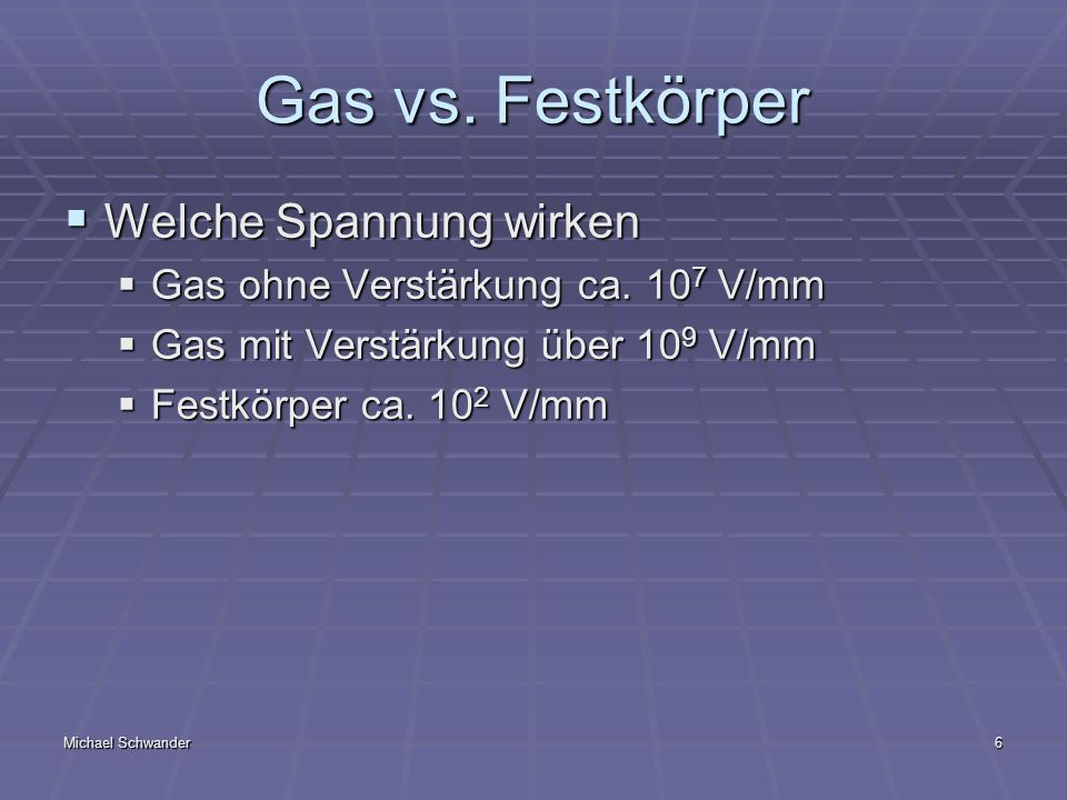 Michael Schwander7 Gas vs.