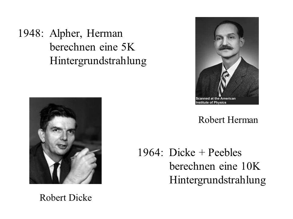 Alternative: Steady-State Theorie 1946: Bondi, Gold, Hoyle suchten Alternative zu Big- Bang