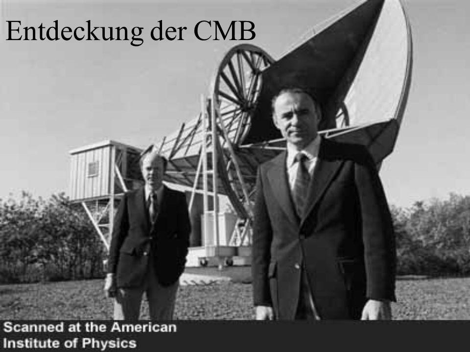 Entdeckung der CMB
