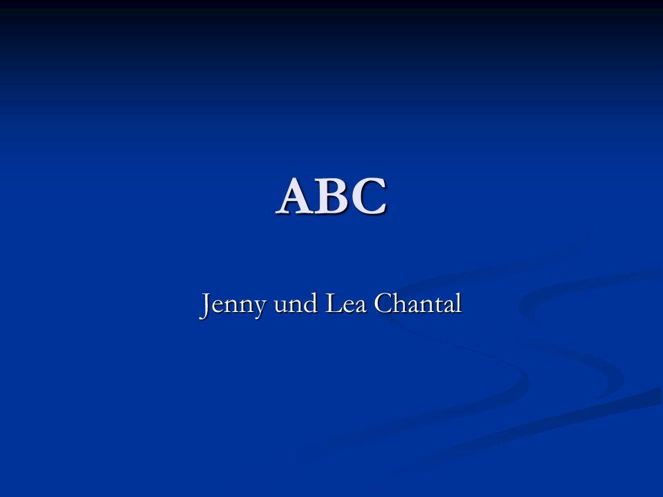 ABC Jenny und Lea Chantal