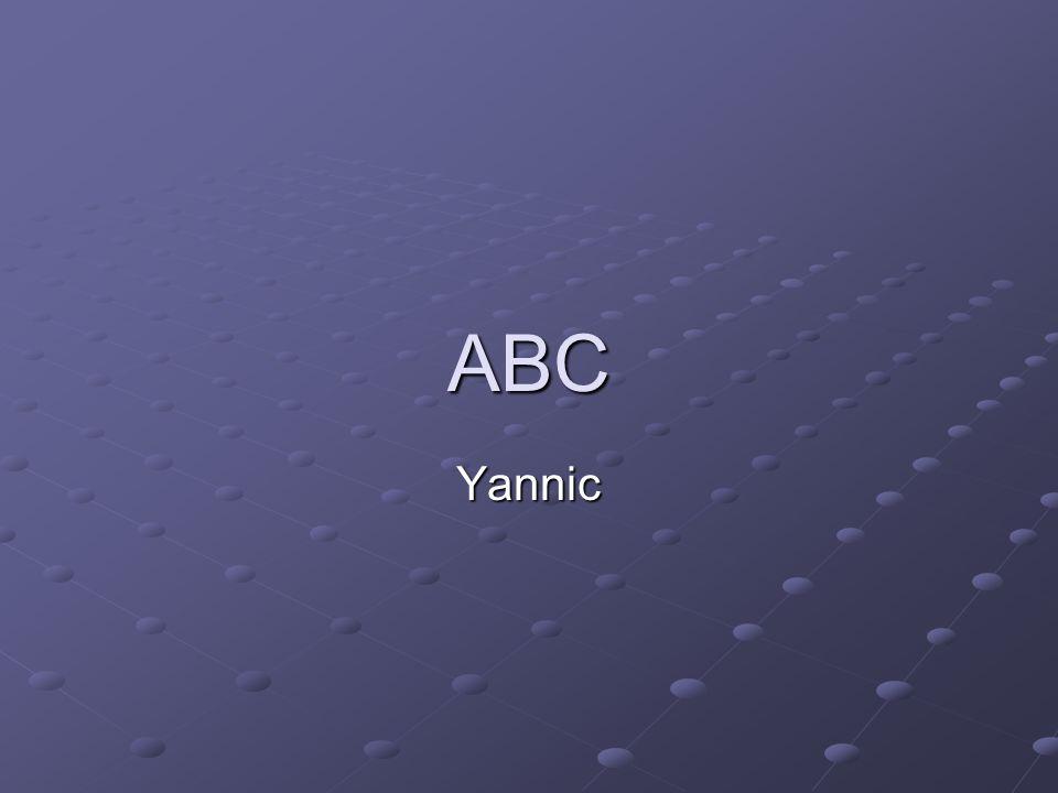 ABC Yannic