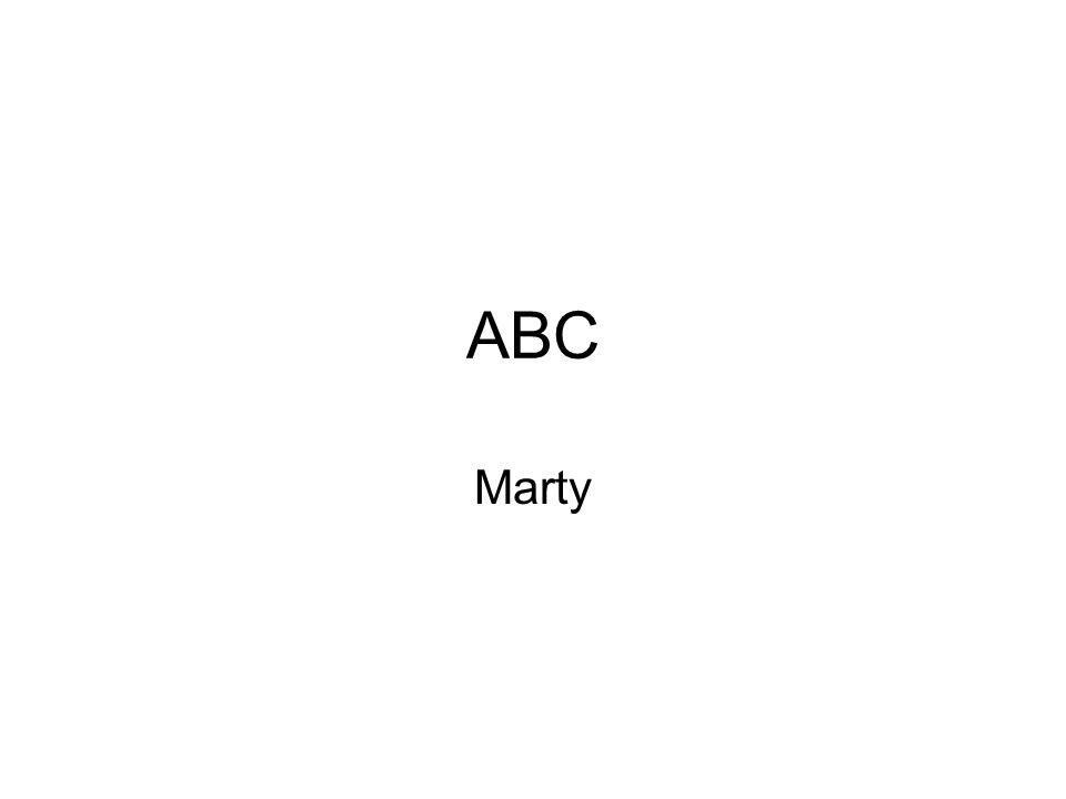 ABC Marty