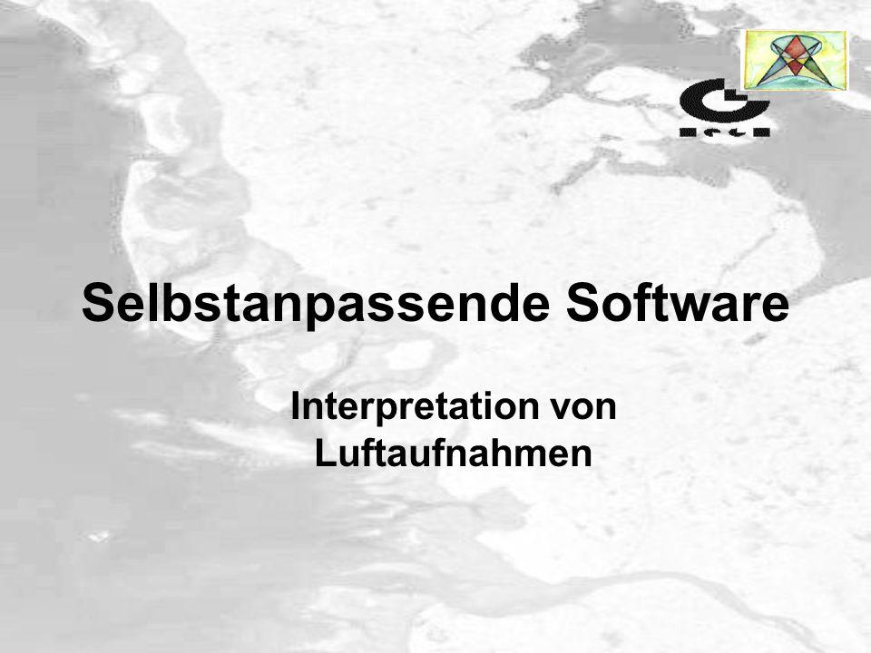 Selbstanpassende Software Interpretation von Luftaufnahmen