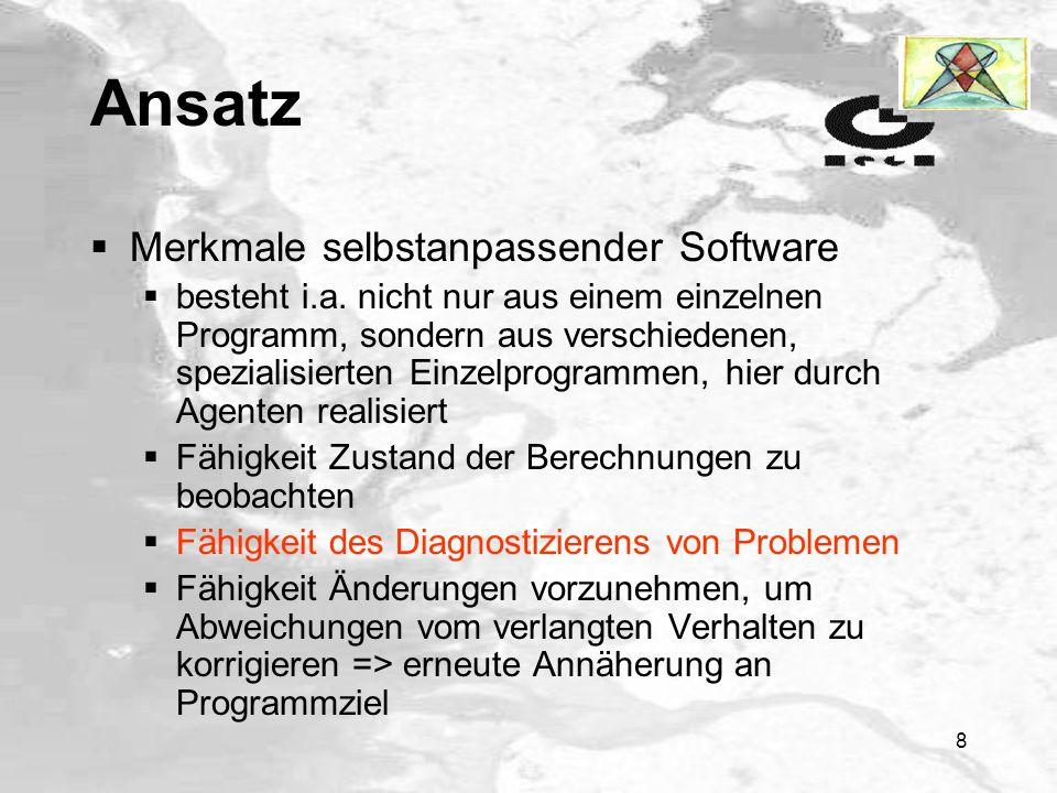 8 Ansatz Merkmale selbstanpassender Software besteht i.a.