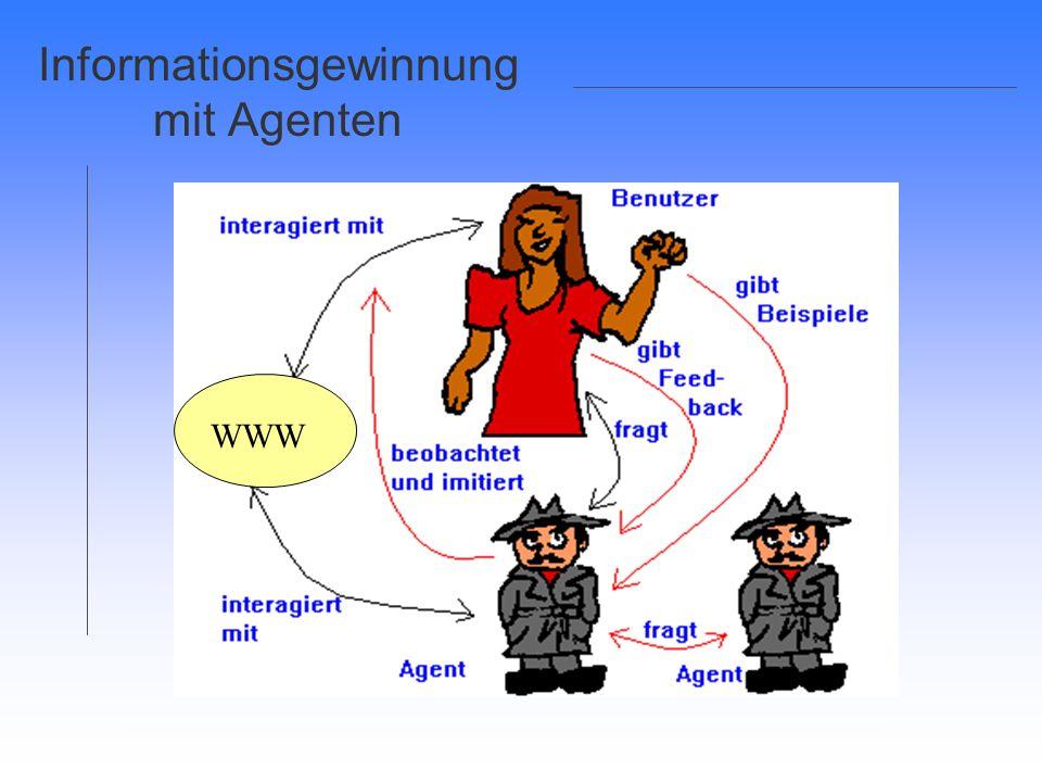 Informationsgewinnung mit Agenten WWW