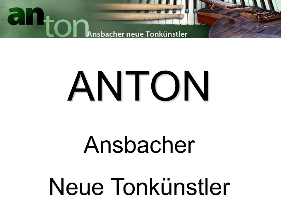 Kooperationsprojekt von: - Stadt Ansbach (AKUT & Jugendamt) - Kammerspiele Ansbach e.V.