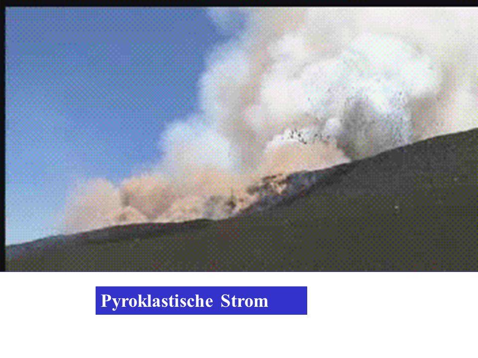 Pyroklastische Strom