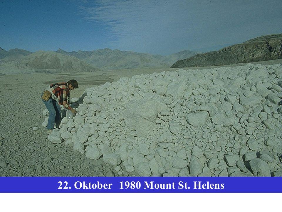 22. Oktober 1980 Mount St. Helens