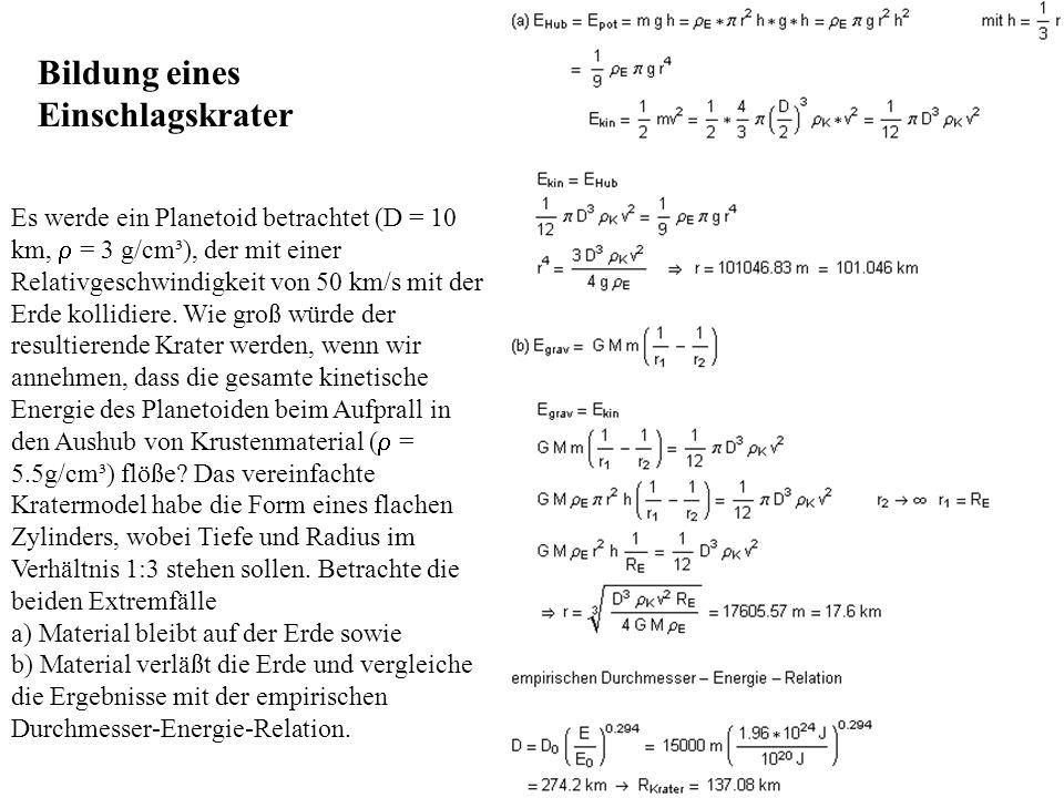 Eine Gute Nährung: Vs=1/2·[C1+Vn] +C0 Dann die Schallgeschwindigkeit unter hohen Druck: C1(M)= 2V s (M)-V n (M)-C(M)= 7,95 km/s C1(G)=2V s (G)-V n (G)-C(G)=10,89 km/s Koordinaten von N-Punkt: D(M)-V e *t n =(V s (M)-V e )*t n t n =D(M)/V s (M) = 0,14 sec X n = D(M)(V e /V s (M)-1)=-0,296 km Koordinaten von R-Punkt: X r =V n (G)·t r =2,8 ·t r (X r -X n )/(t r -t n )=C1(M)+V n (M)=9,3 km/s t r =0,245 sec X r =0,688 km Koordimanet von M-Punkt: Xm=Vs(G)·t m =10,7 ·t m (X m -X r )/(t m -t r )=C1(G)+V n (G) =13,69 km/s t m =0,892 sec X m =9,54 km