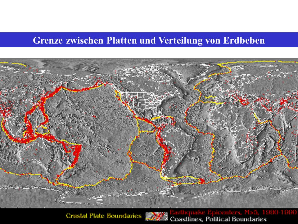 Aktive Vulkane der Erde