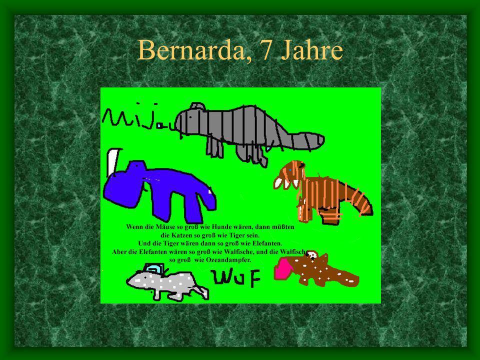 Bernarda, 7 Jahre