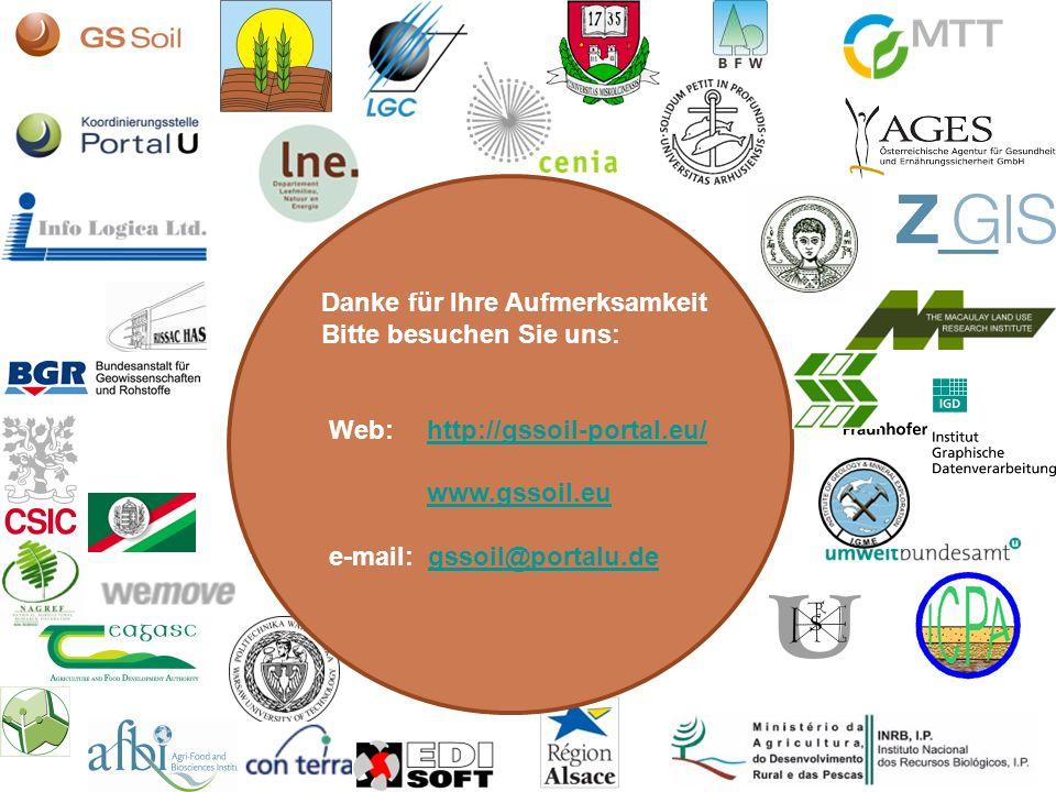 12 Danke für Ihre Aufmerksamkeit Bitte besuchen Sie uns: Web:http://gssoil-portal.eu/ www.gssoil.euhttp://gssoil-portal.eu/www.gssoil.eu e-mail: gssoi