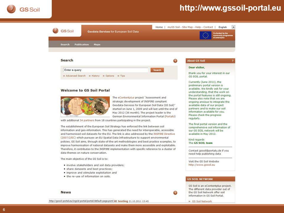 6 http://www.gssoil-portal.eu