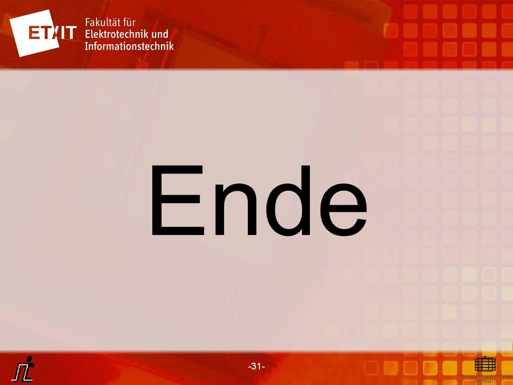 -31- Ende