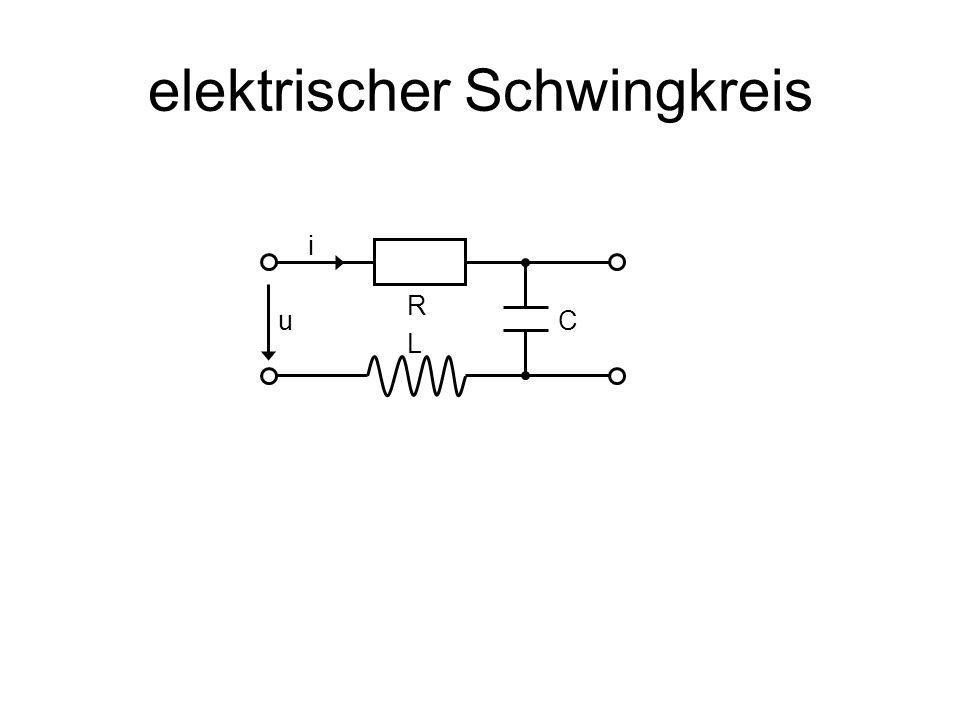 elektrischer Schwingkreis L R Cu i