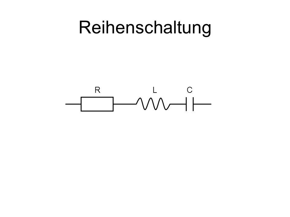 Reihenschaltung RLC
