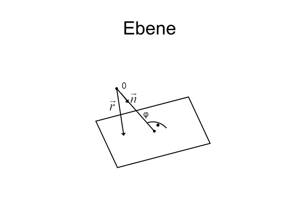 Ebene 0 φ