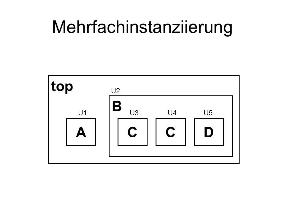 Mehrfachinstanziierung top B ACCD U3U4U5U1 U2