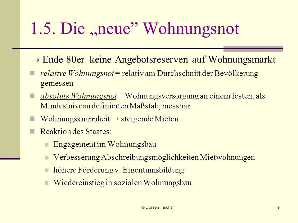 © Doreen Fischer10 Die Eigenheimzulage für Familien mit Kindern und Schwellenhaushalte 01.01.2006: Eigenheimzulage abgeschafft Fördervolumen 10 Mrd.