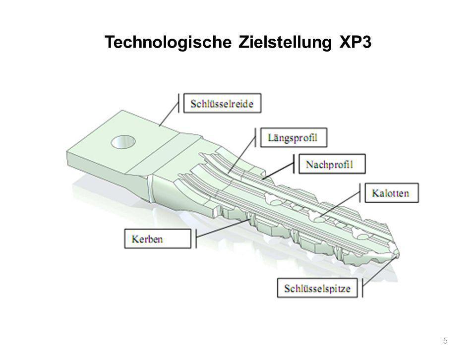 Technologische Zielstellung XP3 5