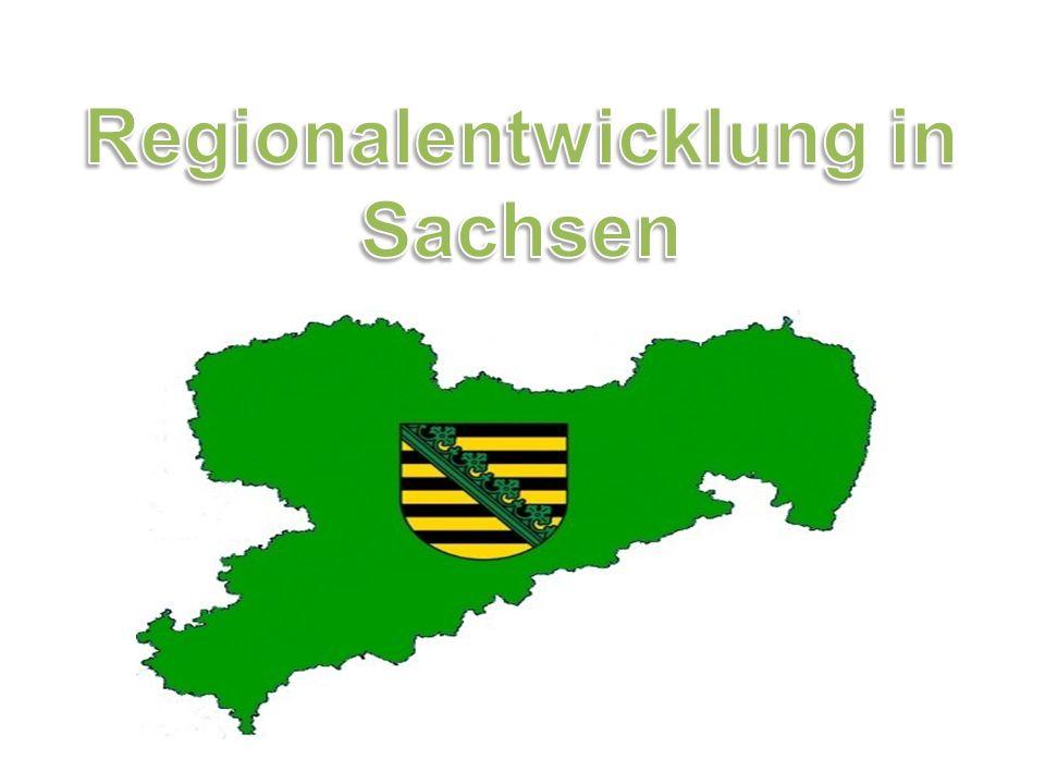 Quellen Sächsisches Staatsministerium des Inneren (2007): Landesentwicklungsbericht 2006.