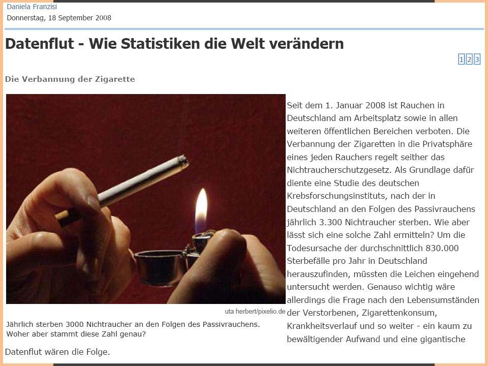 Multivariate Analyseverfahren – Einführung und ALM Thomas Schäfer | SS 2010 2