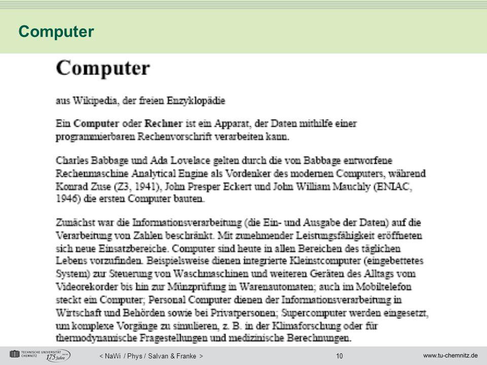 10 Computer