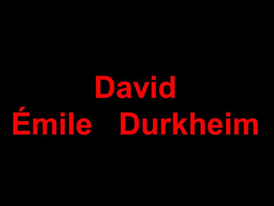 David ÉmileDurkheim