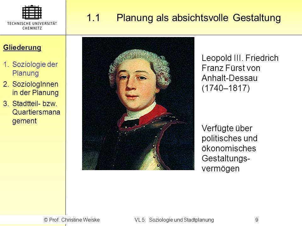 Gliederung 2.4 … als Sozialplaner Gliederung 1.Soziologie der Planung 2.SoziologInnen in der Planung 3.Stadtteil- bzw.