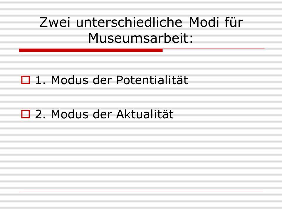 Bildprinzipen der Musealisierung Metonymisches Bildprinzip Synekdochisches Bildprinzip Ironische Ausstellung