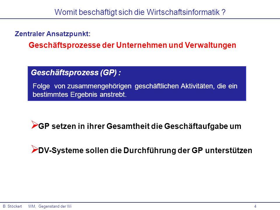 4 Geschäftsprozess (GP) : Folge von zusammengehörigen geschäftlichen Aktivitäten, die ein bestimmtes Ergebnis anstrebt. GP setzen in ihrer Gesamtheit