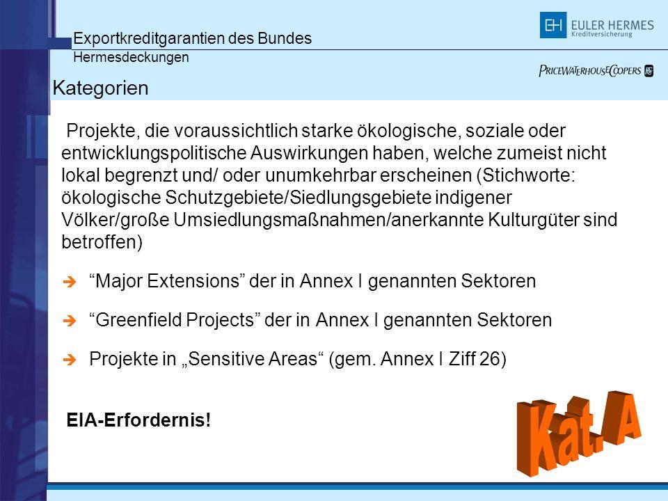 Exportkreditgarantien des Bundes Hermesdeckungen Gedeckte Geschäfte seit 1998 (Erneuerbare Energien)