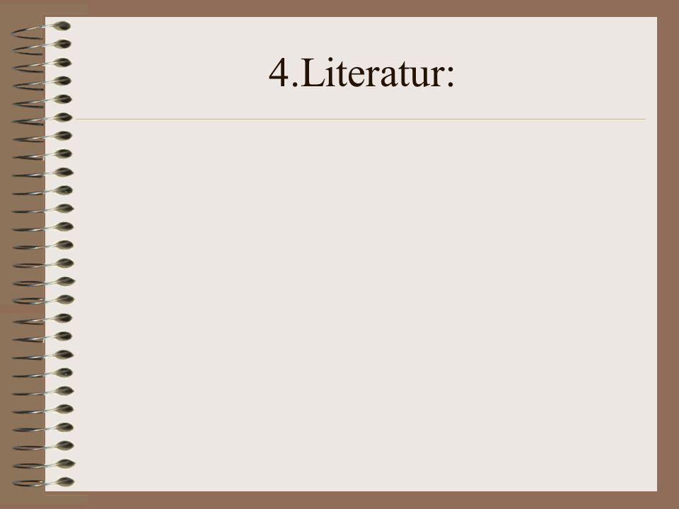 4.Literatur: