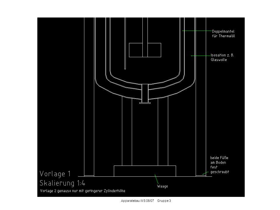 Die Fluide in der Anlage werden batchweise (schubweise) gefördert Der Transport der Fluide erfolgt über einen Edelstahlschlauch zur Pumpe Grund dafür: Der Vorlagenbehälter befinden sich auf Waagen, die Verbindung zu den Pumpen muss deshalb flexibel gestaltet sein.