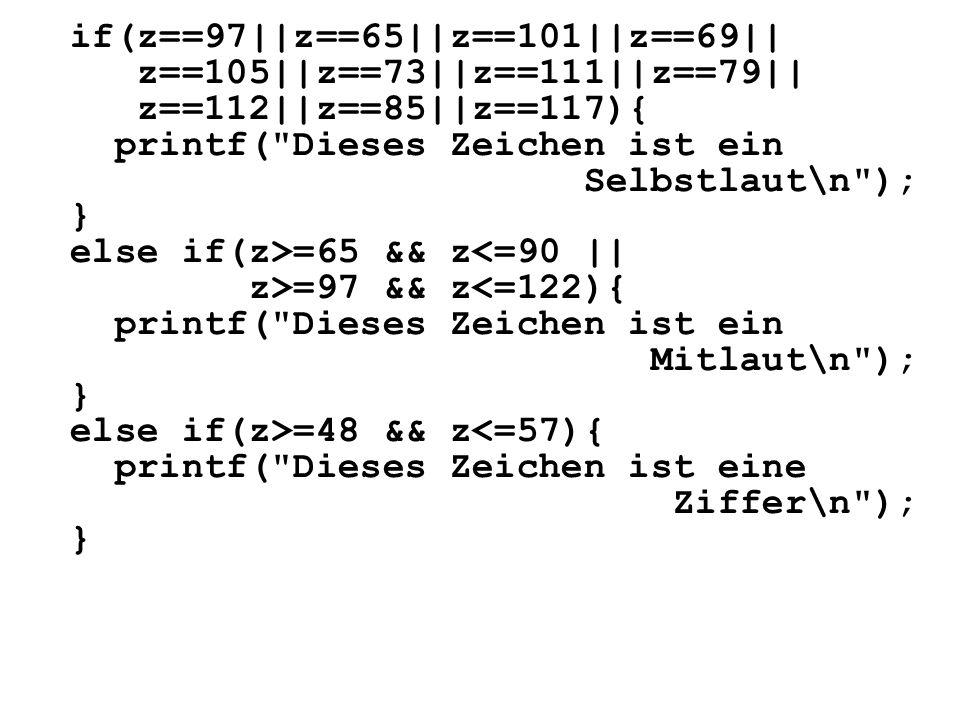 if(z==97||z==65||z==101||z==69|| z==105||z==73||z==111||z==79|| z==112||z==85||z==117){ printf(