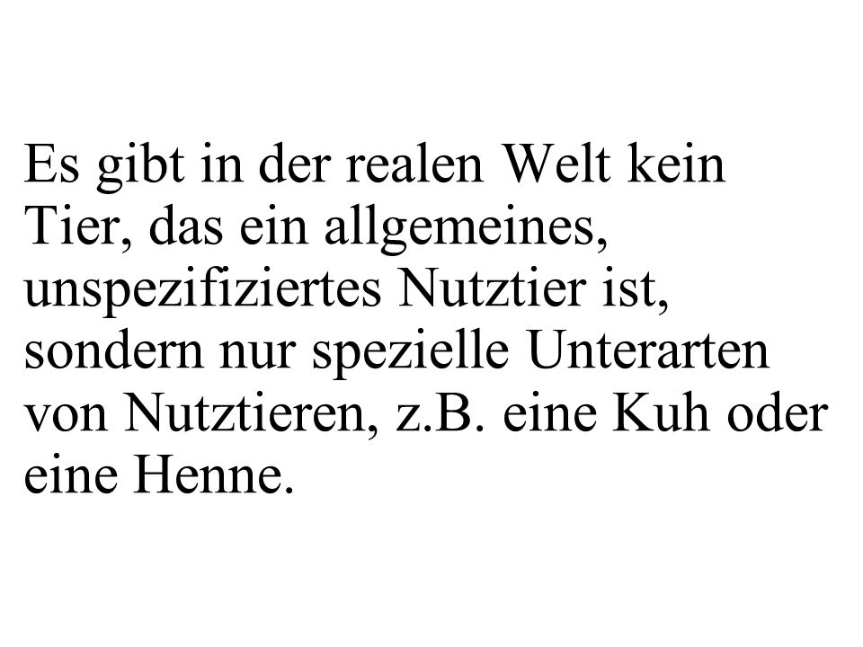 class Nutztier{ private String name; public Nutztier(String pName){ name = pName; } public double getTierwert(){ return 123; } public double getGewinn(){ return(0.1*getTierwert()); } Da getTierwert() in der Methode getGewinn() verwendet wird.
