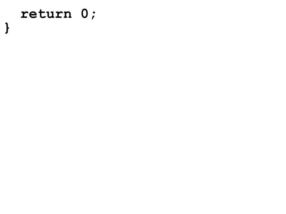 Initialisierung bei der Deklaration int zahlen[4]={23,7}; double d[4]={1.4,7.3,2,4}; 237?.