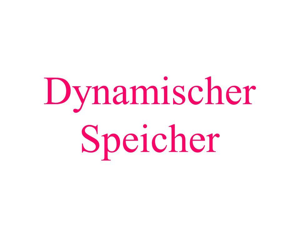 Dynamischer Speicher