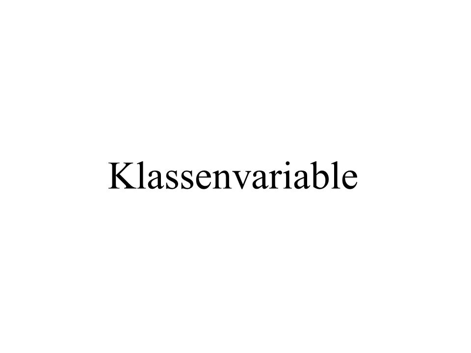 public class MainTest1{ public static void main( String[] args){ double wert; wert = verdopple(4); System.out.println(wert); } public double verdopple( double pWert){ return(2*pWert); } main(..) ist immer static, also...
