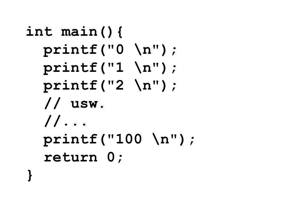 int main(){ printf(