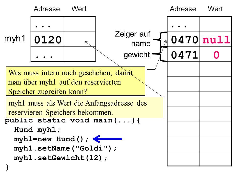 Ergebnis: Wenn 2 Variablen (z.B.