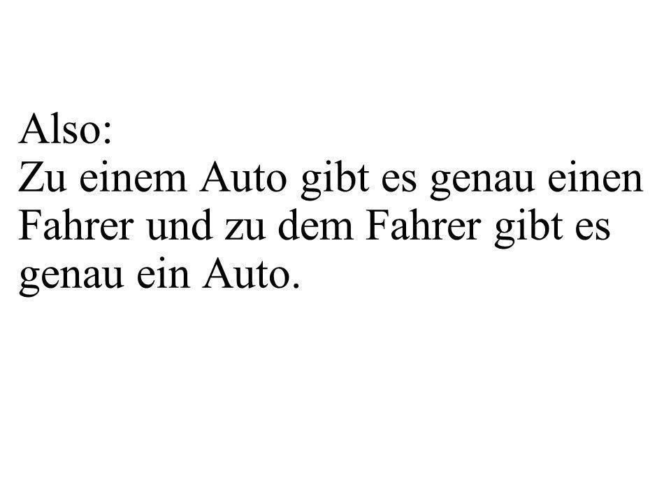 class Auto{ private String kfzZ; private Fahrer f; public Auto(String pKfzZ){ kfzZ=pKfzZ; } Fahrer getFahrer(){ return f; } public void setFahrer(Fahrer pFahrer){ f = pFahrer; } public void verlinke(Fahrer pF){ setFahrer(pF); f.setAuto(this); } void printAttributs(){ System.out.println( kfzZ= +kfzZ); }