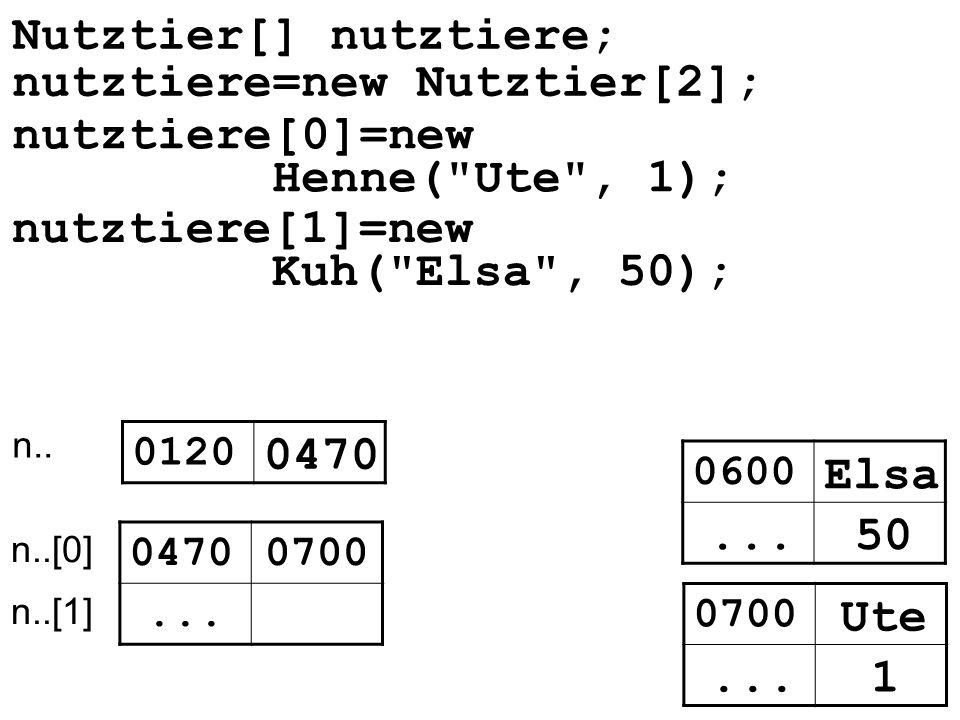 0120 0470... 0470 0700 n.. n..[0] n..[1] nutztiere[1]=new Kuh(