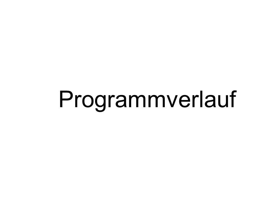 println( Das war es );} for (i=0; i<=100; i=i+1){ println(i); }