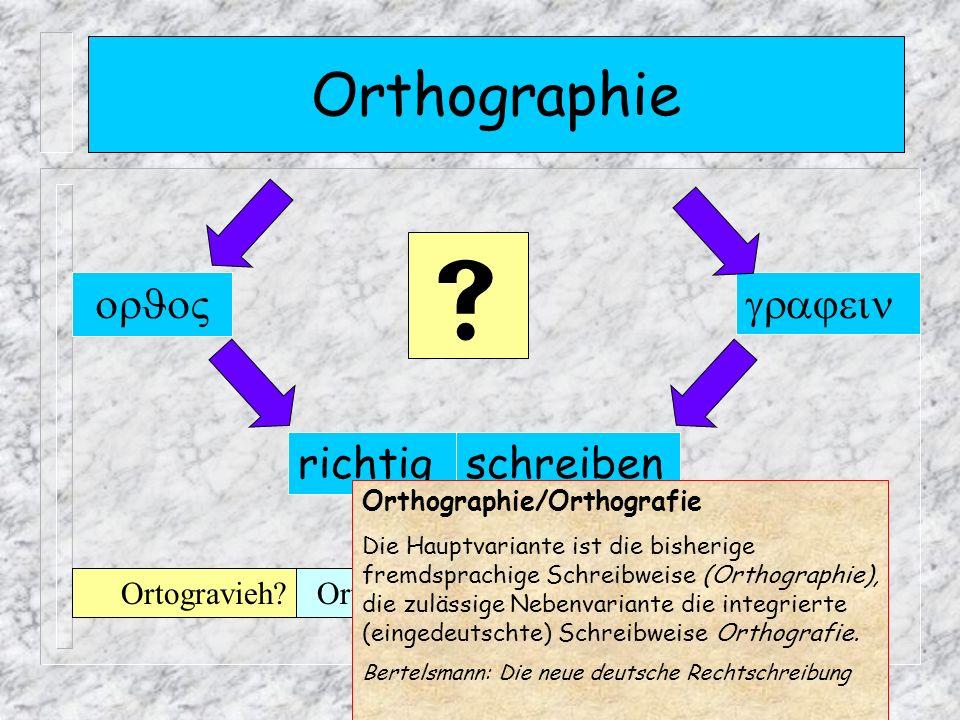 Orthographie richtig schreiben Orthographie.Orthografie?Ortografie?Ortogravieh.