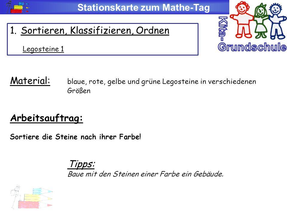 Stationskarte zum Mathe-Tag 4.