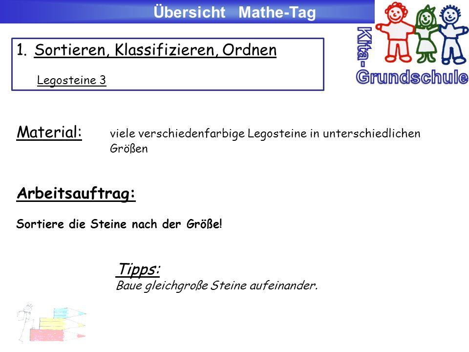 Stationskarte zum Mathe-Tag 6.