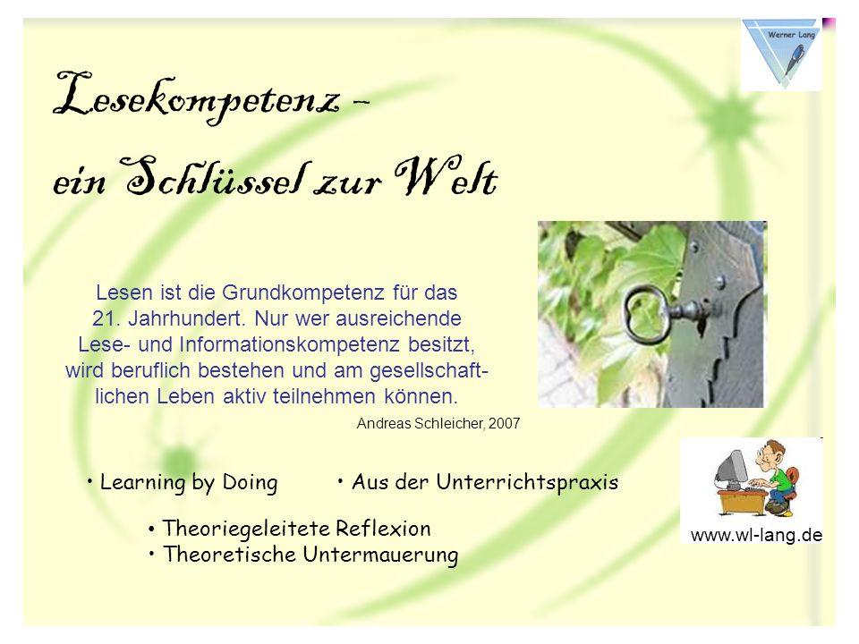 Workshop 2009 Leipzig Das Literacy-Konzept umfasst Basiskompetenzen, die in modernen Gesellschaften für eine befriedigende Lebensführung in persönlicher und wirtschaftlicher Hinsicht sowie für eine aktive Teilnahme am gesellschaftlichen Leben notwendig sind.